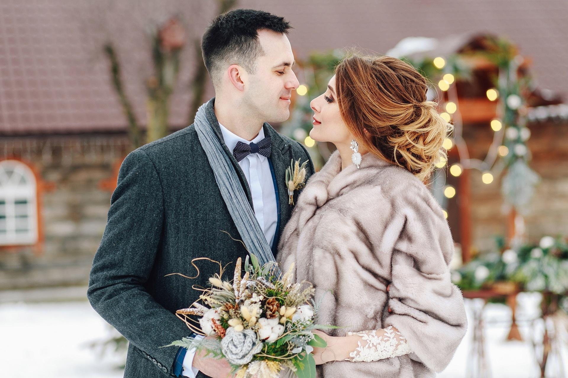 Zimowe Dekoracje ślubne Planujemywesele