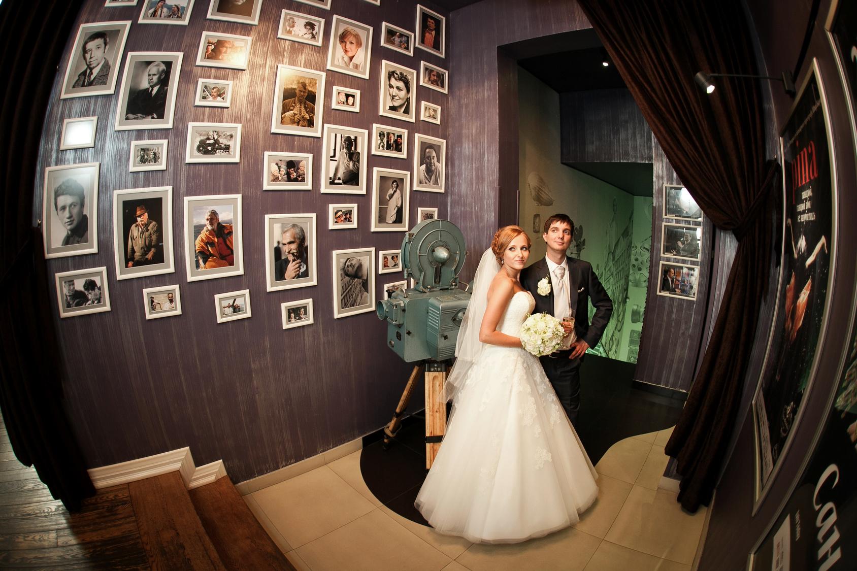 pokaz zdjęć na weselu