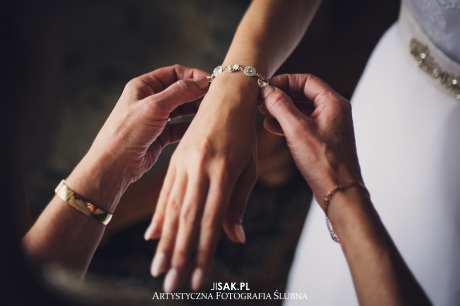 bransoletka ślubna, dodatki na ślubie,prezent ślubny