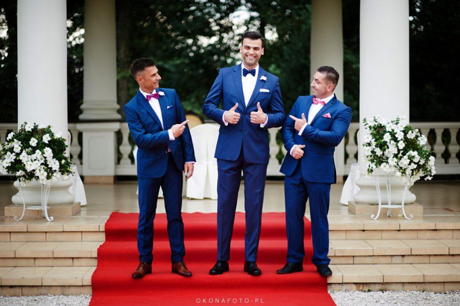 świadek i drużba na weselu, zdjęcie Pana Młodego ze świadkiem i drużbą, świadkowie na weselu, świadkowie na ślubie