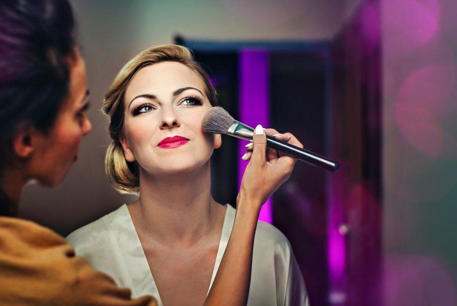 Próbny makijaż