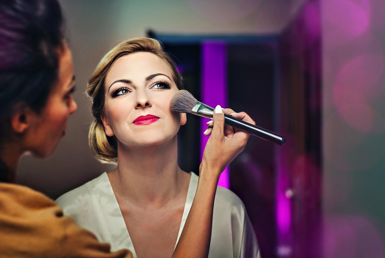 Próbny makijaż przed ślubem, makijaż Panny Młodej
